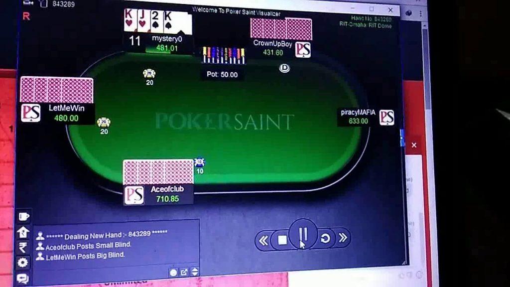 Pokersaint poker game